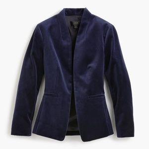 J. Crew Jackets & Coats - NWT J.CREW Size 10 Navy Going Out Blazer
